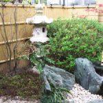 松鳴館の坪庭2
