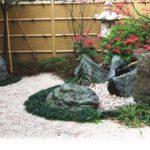 松鳴館の坪庭3